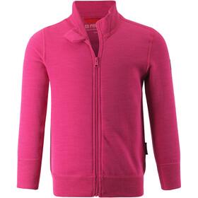 Reima Mahin Sweat-shirt de survêtement Enfant, raspberry pink